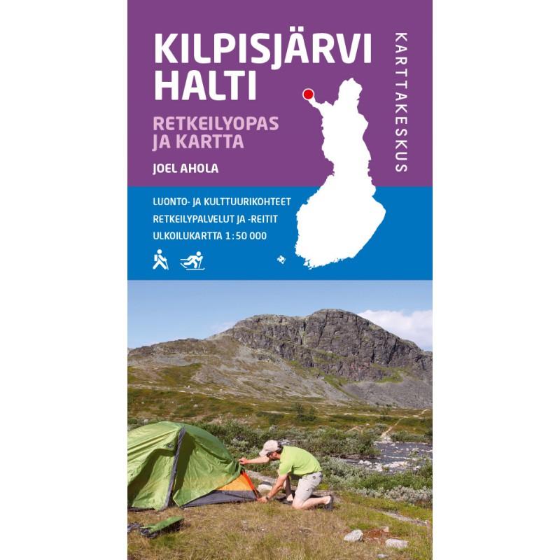 Kilpisjarvi Halti Retkeilyopas Ja Kartta
